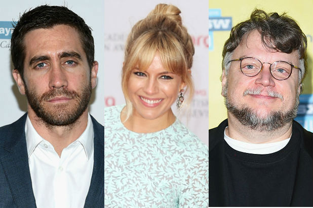 Jake Gyllenhaal Sienna Miller And Guillermo Del Toro Join Cannes