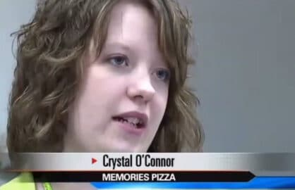 Crystal O'Connor Memories Pizza
