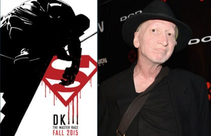 Dark Knight III: The Master Race; Frank Miller (DC Entertainment; Araya Diaz/Getty Images)