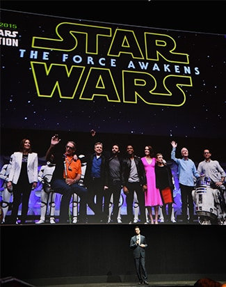 Disney at CinemaCon 2015: Alberto E. Rodriguez/Getty Images for CinemaCon