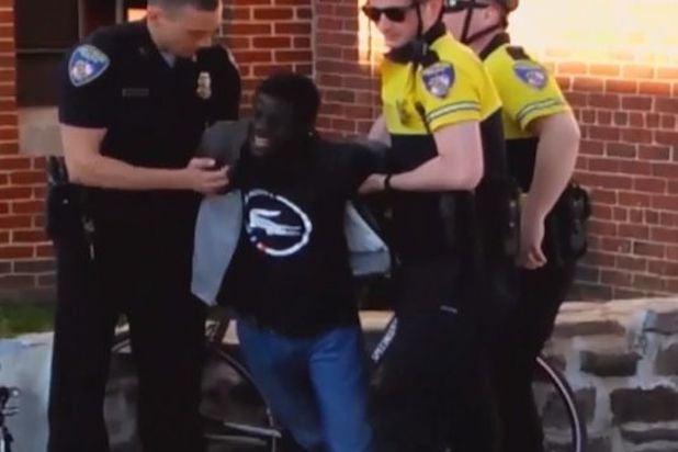 Freddie Gray Arrest