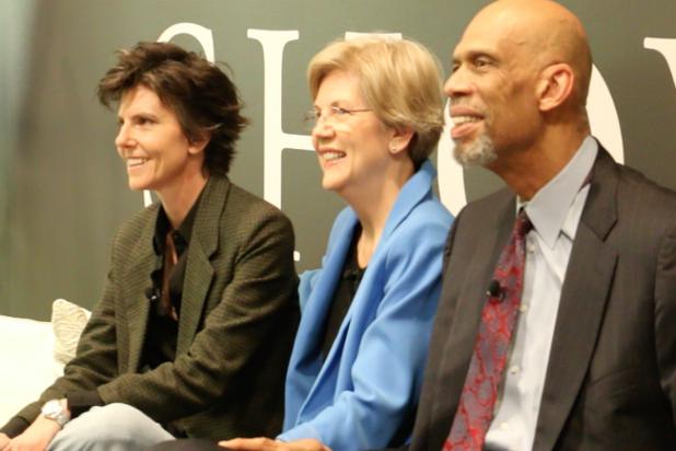 Tig Notaro, Senator Elizabeth Warren, Kareem Abdul-Jabar