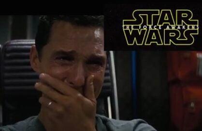 Matthew McConaughey Star Wars parody
