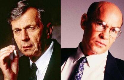 Smoking Man Skinner X-Files