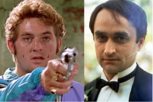Chris Penn and John Cazale