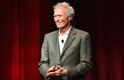 Clint Eastwood at CinemaCon and Warner Bros. Pictures event The Legend of Cinema Luncheon: A Salute to Clint Eastwood (Alberto E. Rodriguez/Getty Images for CinemaCon)