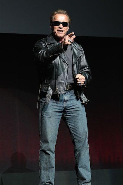 CinemaCon: Arnold Schwarzenegger (Alex J. Berliner/ABImages for Paramount Pictures)