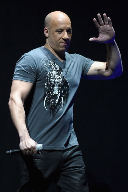 CinemaCon Universal presentation: Vin Diesel (Michael Buckner/Getty Images for CinemaCon)