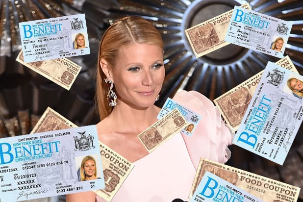 Gwyneth Paltrow Admits Defeat In 29 Food Stamp Challenge Only