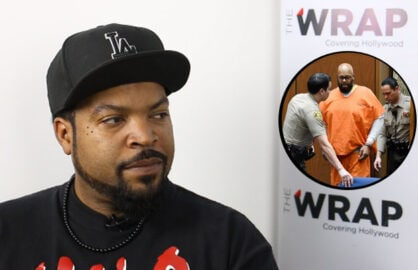 Ice Cube talks to TheWrap about Suge Knight (Knight photo: Kevork Djansezian/Getty Images)