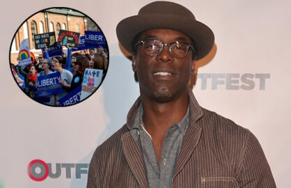 HOLLYWOOD, CA - MARCH 14: Actor Isaiah Washington arrives to the Outfest Fusion LGBT People of Color Film Fetival Opening Night Screening of 'Blackbird' at the Egyptian Theatre on March 14, 2014 in Hollywood, California. (Photo by Alberto E. Rodriguez/Getty Images)