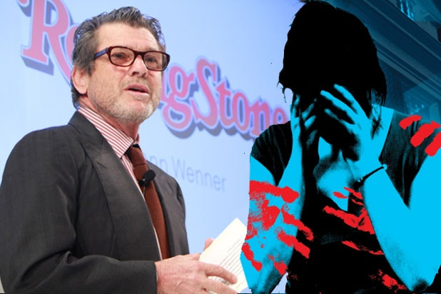 Jann Wenner stands behind staff responsible for retracted campus rape story (Charles Eshelman/Getty Images for Spotify)
