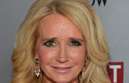 LOS ANGELES, CA - APRIL 30: TV personality Kim Richards attends REVOLT and The National Cable and Telecommunications Association's Celebration of Cable at Belasco Theatre on April 30, 2014 in Los Angeles, California. (Photo by Alberto E. Rodriguez/Getty Images)