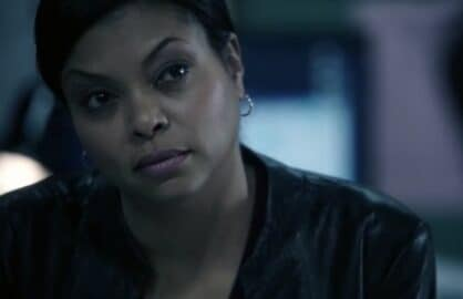 "Taraji P. Henson on ""Person of Interest"""