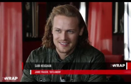 Sam Heughan of Outlander