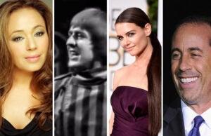 Leah Remini, Sonny Bono, Katie Holmes, Jerry Seinfeld