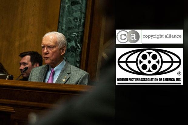 Chairman Orrin Hatch (R-UT) in Washington, D.C., April 16, 2015 (Gabriella Demczuk/Getty Images)