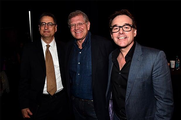 Chris Columbus, Tom Rothman at CinemaCon 2015