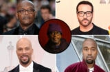 Samuel L. Jackson, Jeremy Piven, Kanye West, Common, Spike Lee (Getty/Patrick Fraser)