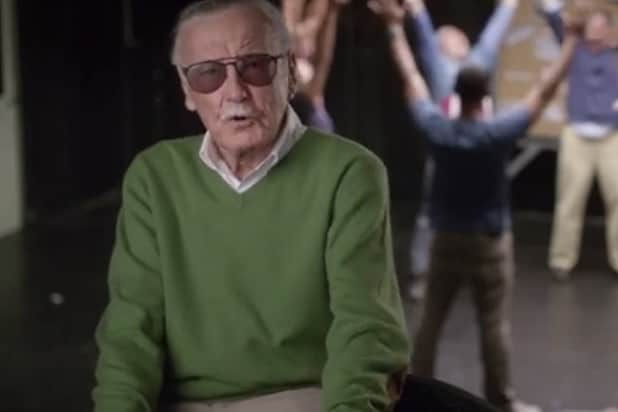 Marvel S Stan Lee Teaches Kevin Smith Michael Rooker Art Of Cameo Acting In Audi Commercial Video