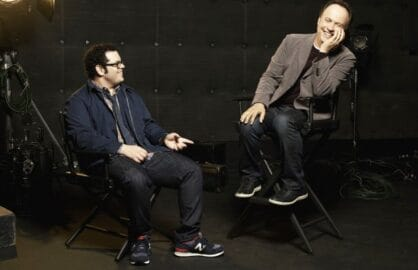 "Josh Gad and Billy Crystal on ""The Comedians"""