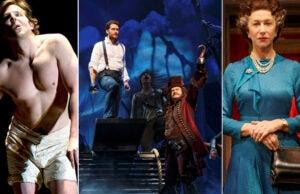 Bradley Cooper, 'The Elephant Man'; Matthew Morrison, 'Finding Neverland'; Helen Mirren, 'The Audience'