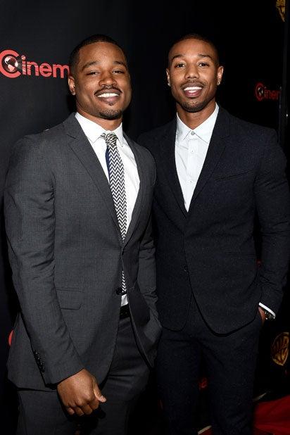 Warner Bros. CinemaCon 2015: 'Creed' Director Ryan Coogler and actor Michael B. Jordan (Michael Buckner/Getty Images for CinemaCon)