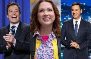 """Jimmy Fallon / Ellie Kemper on """"The Unbreakable Kimmy Schmidt"""" / Jimmy Kimmel"""