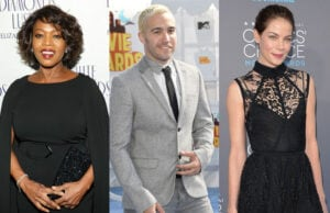 Alfre Woodard, Pete Wentz, Michelle Monaghan (Getty)