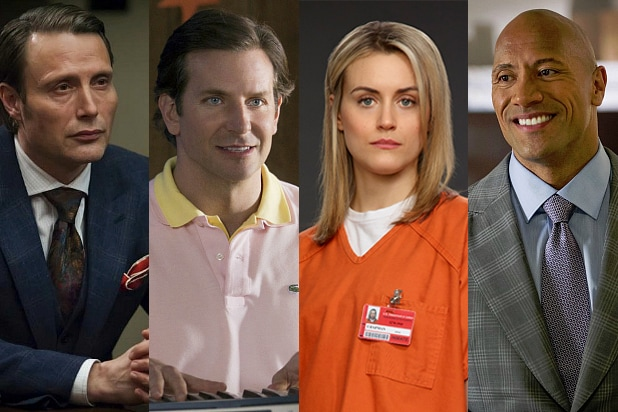 Hannibal, Wet Hot American Summer, Orange Is the New Black, Ballers (NBC, Netflix, HBO)