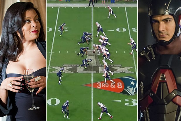 "Taraji P. Henson of ""Empire,"" Super Bowl 49, Brandon Routh of ""DC's Legends of Tomorrow"" (Fox, NFL, DC/CW)"