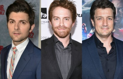 Adam Scott Seth Green Nathan Fillion
