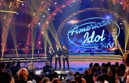 24 Hours Earlier: Idol had just occupied the stage. (Getty Images)