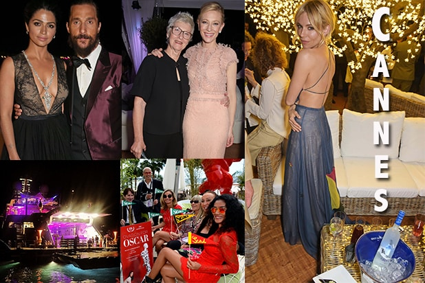 "Camila Alves, Matthew McConaughey, Paul Allen's Yacht Party, ""Carol's"" Bash, and the ubiquitous Sienna Miller topped the scene at Cannes 2015. (Getty Images/Instagram)"