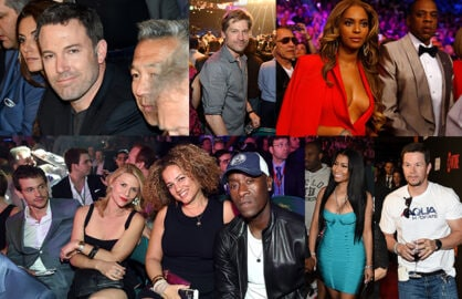A huge crop of celebrities from Hollywood, sports, business descended on Mayweather vs. Pacquiao fight on Saturday night, May 2. (Getty Images)