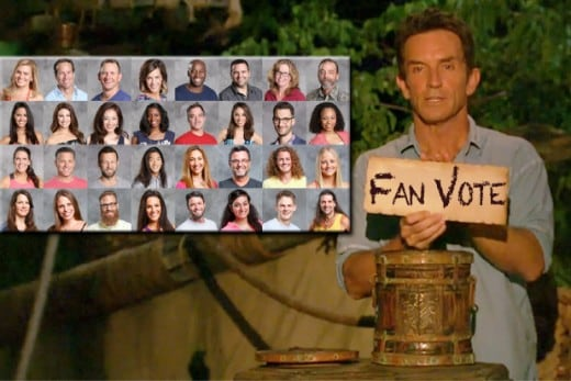 Fans will vote 20 alums back on to the show from a pool of 32 in a contest that runs through May 20. (Photo illustration by Mikey Glazer, images via CBS)