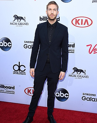 LAS VEGAS, NV - MAY 17: Musician Calvin Harris attends the 2015 Billboard Music Awards at MGM Grand Garden Arena on May 17, 2015 in Las Vegas, Nevada. (Photo by Jason Merritt/Getty Images)