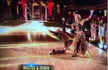"""Dancing With the Stars"" Season 20 Nastia Liukin and Sasha Farber's ""Games of Thrones"" paso doble"