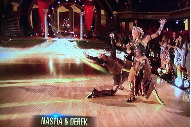 """Dancing With the Stars"" Season 20 Nastia Liukin and Sasha Farber's ""Games of Thrones"" paso doble"
