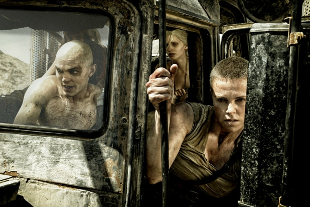 Mad Max  Fury Road  Review  Tom Hardy and Charlize Theron Rev Up This  Post-Apocalyptic Return Trip b3f782eed19