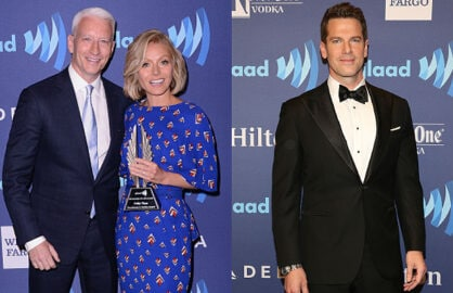 GLAAD Media Awards, Kelly Ripa, Anderson Cooper, Thomas Roberts