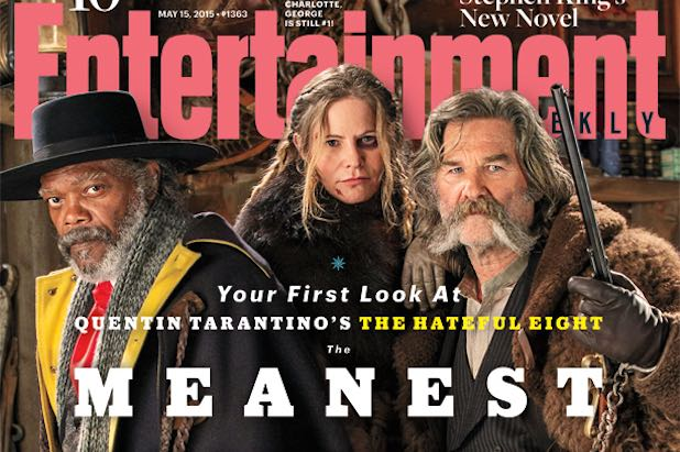 Hateful Eight First Look At Samuel L Jackson Kurt Russell And Jennifer Jason Leigh In Character Photo