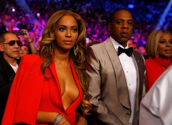 Jay Z Beyonce Al Bello:Getty Images