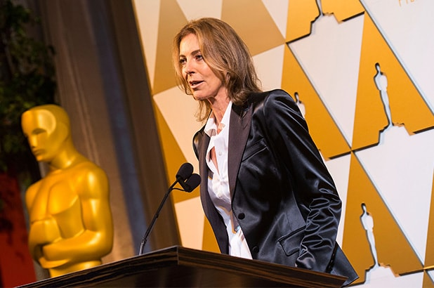 LOS ANGELES, CA - FEBRUARY 28: Director Kathryn Bigelow attends the 86th Annual Academy Awards - Oscar Foreign Language Reception at LACMA on February 28, 2014 in Los Angeles, California. (Photo by Valerie Macon/Getty Images)
