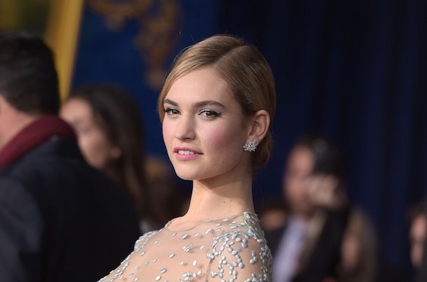 cinderellas lily james to cross the english channel in