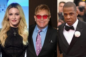 Richest Music Artists Madonna, Elton John, Jay Z