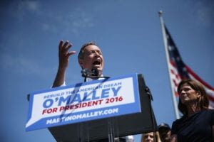 Martin O'Malley Makes Announcement On Presidential Campaign