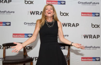 Karen Appleton SVP Global Alliances Box, at TheWrap's Power Women Breakfast in San Francisco