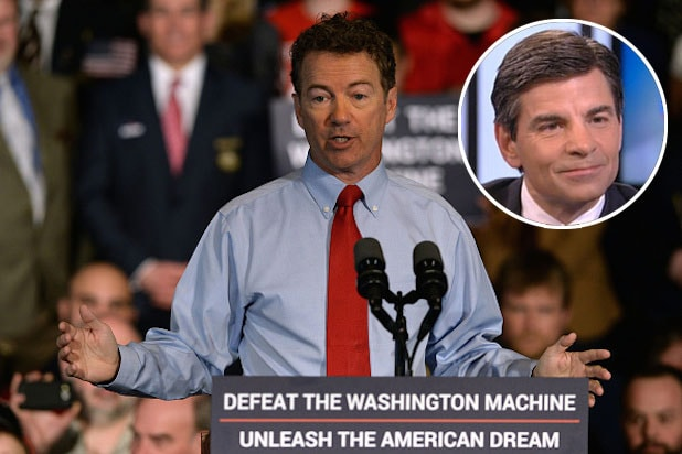 Ireland Paul George 2016 - Rand Paul Says Abcs George Stephanopoulos Shouldnt Moderate 2016 Debates