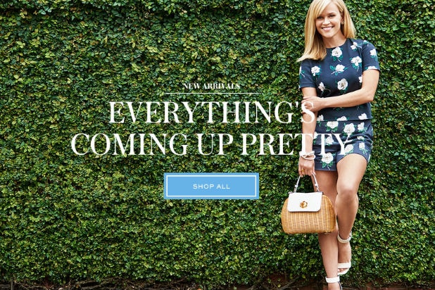 8c6cc2fdd74 Reese Witherspoon Launches Lifestyle Site Draper James: $85 Napkins ...